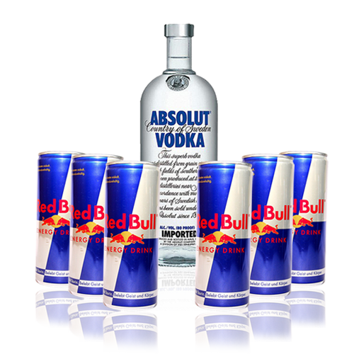 Absolut Vodka and RedBull