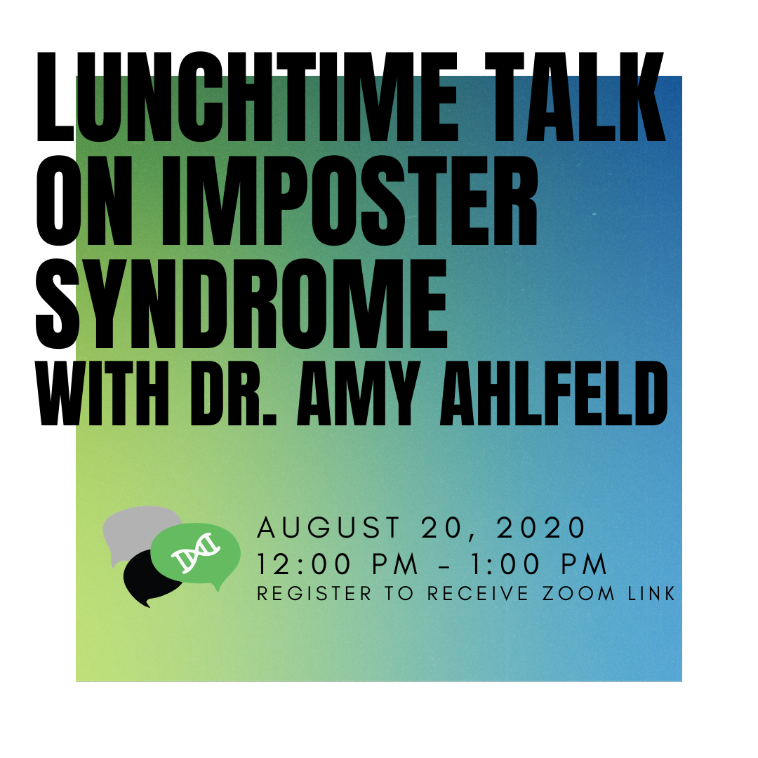 Imposter Syndrome flyer