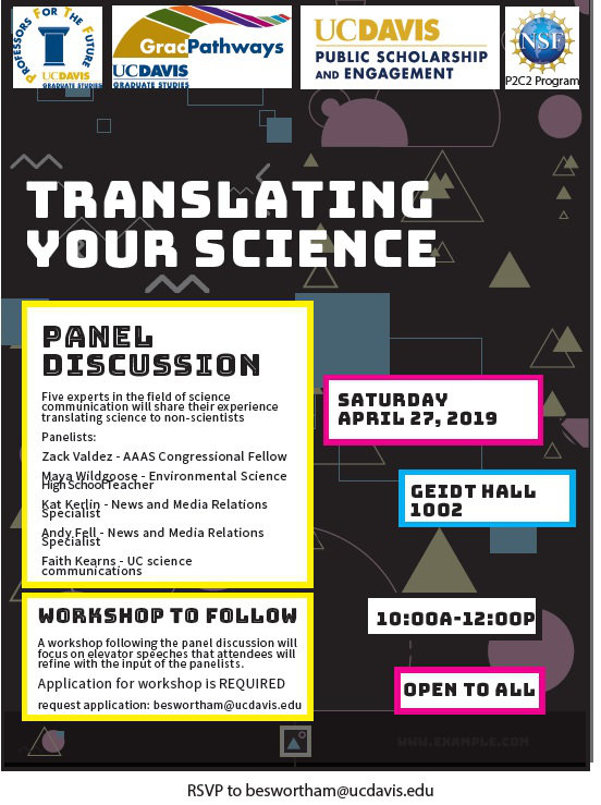 Translating Your Science Flyer
