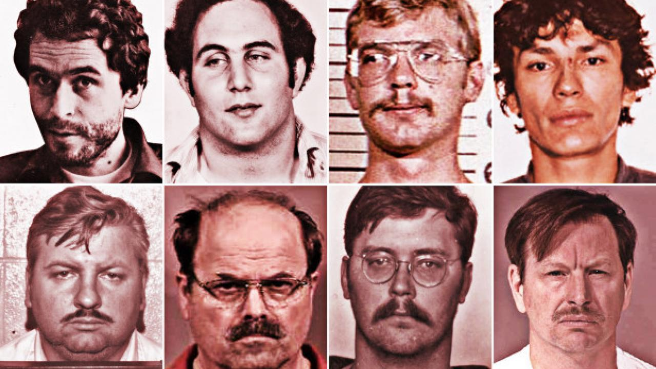 Mug Shots of Famous Serial Killers