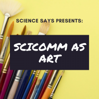 SciComm as Art Square flyer