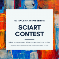 Science Art Contest Flyer