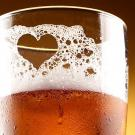 Beer with heart