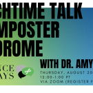 Lunchtime Talk on Imposter Syndrome