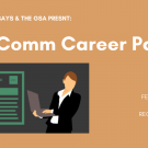 SciComm Career Panel banner
